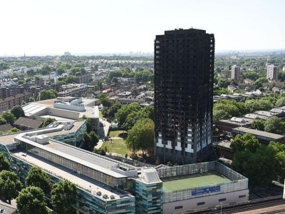 Two families found dead after Grenfell Tower fire commemorated at public inquiry