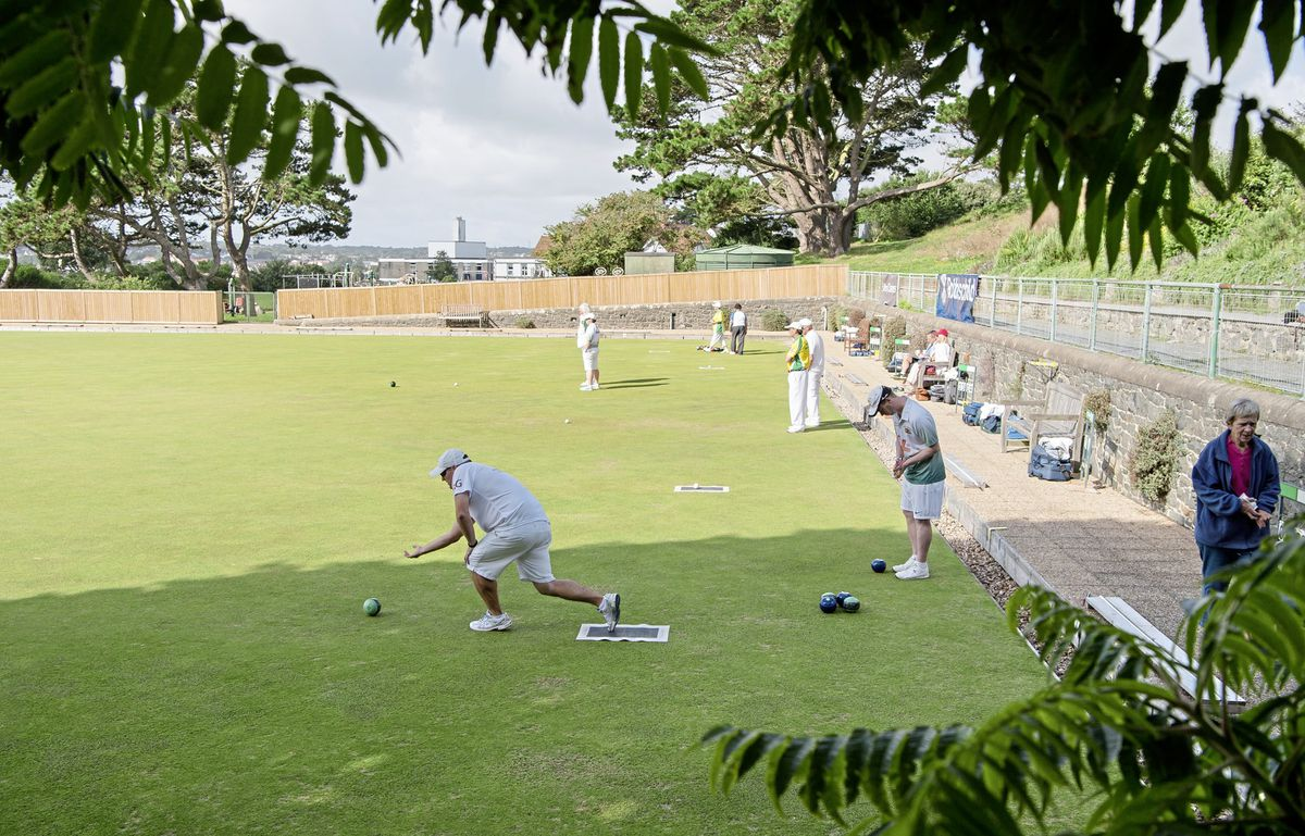 Delancey bowls green. (Picture supplied by Andrew Le Poidevin, 28652922)