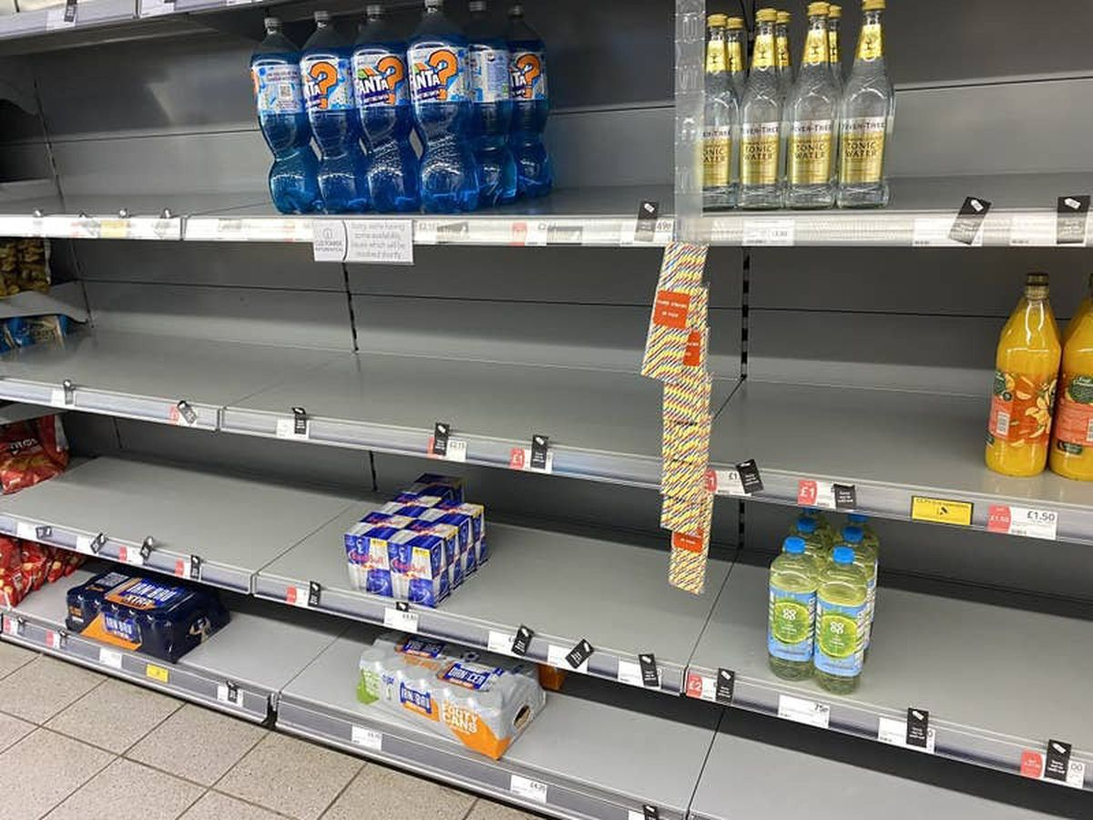 Supermarkets urge customers not to panic buy