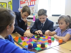 Former pupils return to teach mind games