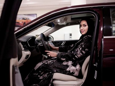 Women prepare to get behind the wheel as Saudi Arabia driving ban ends