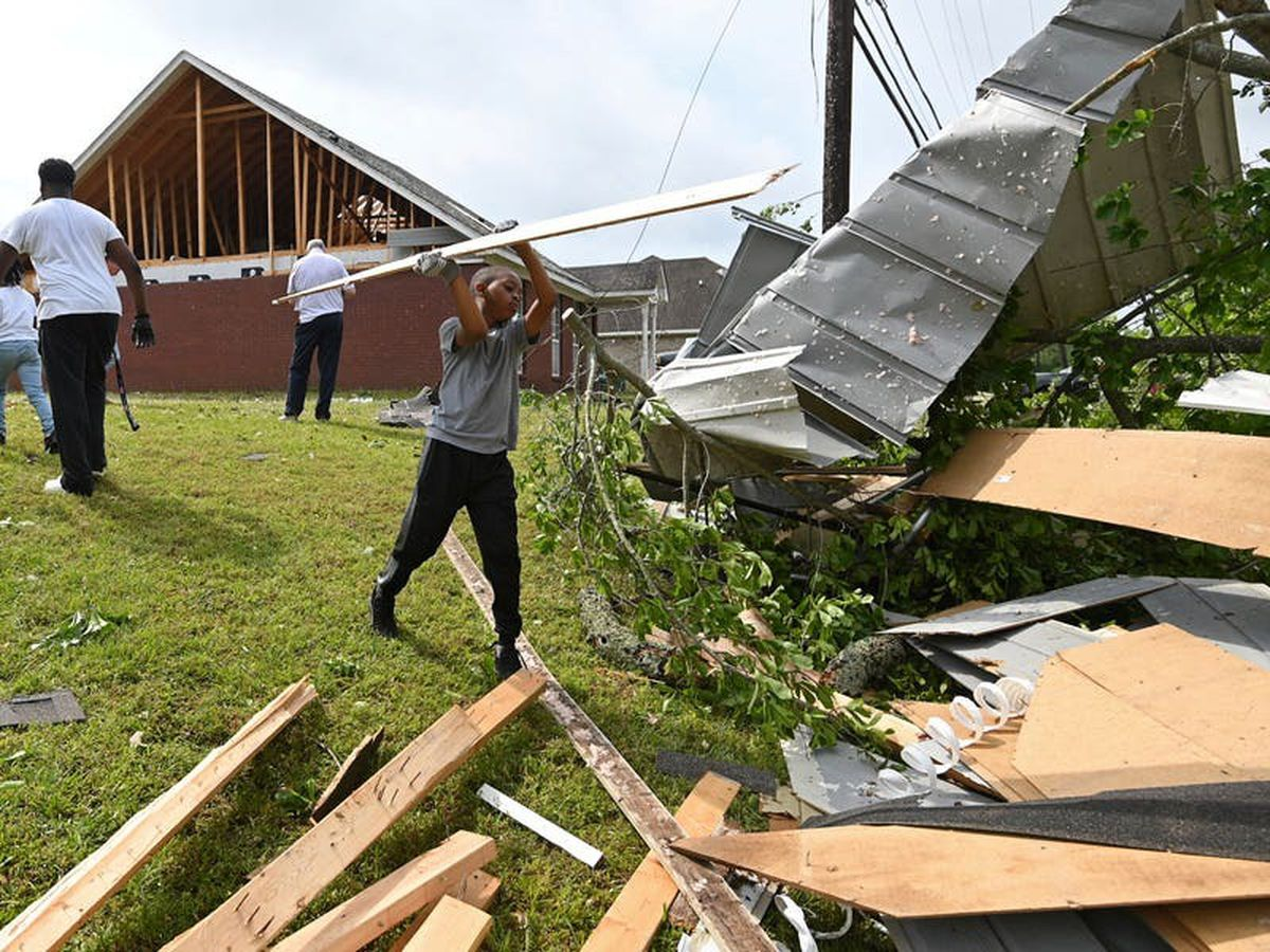 Three killed as storms spawn tornadoes across southern US
