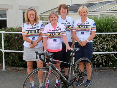 Pride of Guernsey: Debbie McLaughlin, Carolyn Wray, Liz Parkes and Sally Inderwick