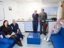 Prize winnings go towards refurbishment of staffroom