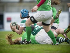 Picture By Peter Frankland. 25-01-20 Ladies Rugby at Footes Lane. Guernsey v London Irish Ladies. Tanya Scholtz. (26991507)