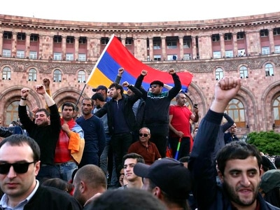I was wrong: Armenia's premier quits as thousands join protests