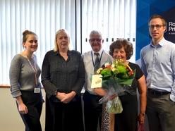 Long service awards for Rossborough staff