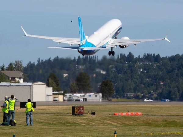 Boeing's latest version of the 737 Max makes first flight