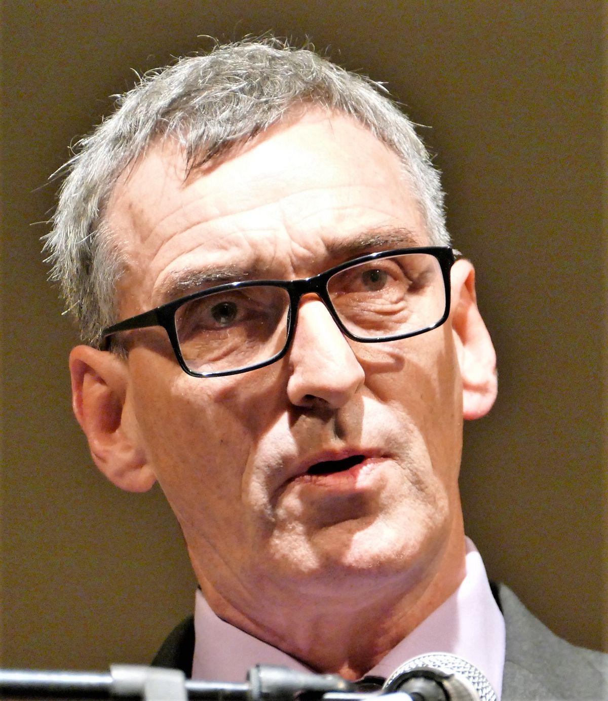 Alderney politician Kevin Gentle. (Picture by David Nash, 29238041)