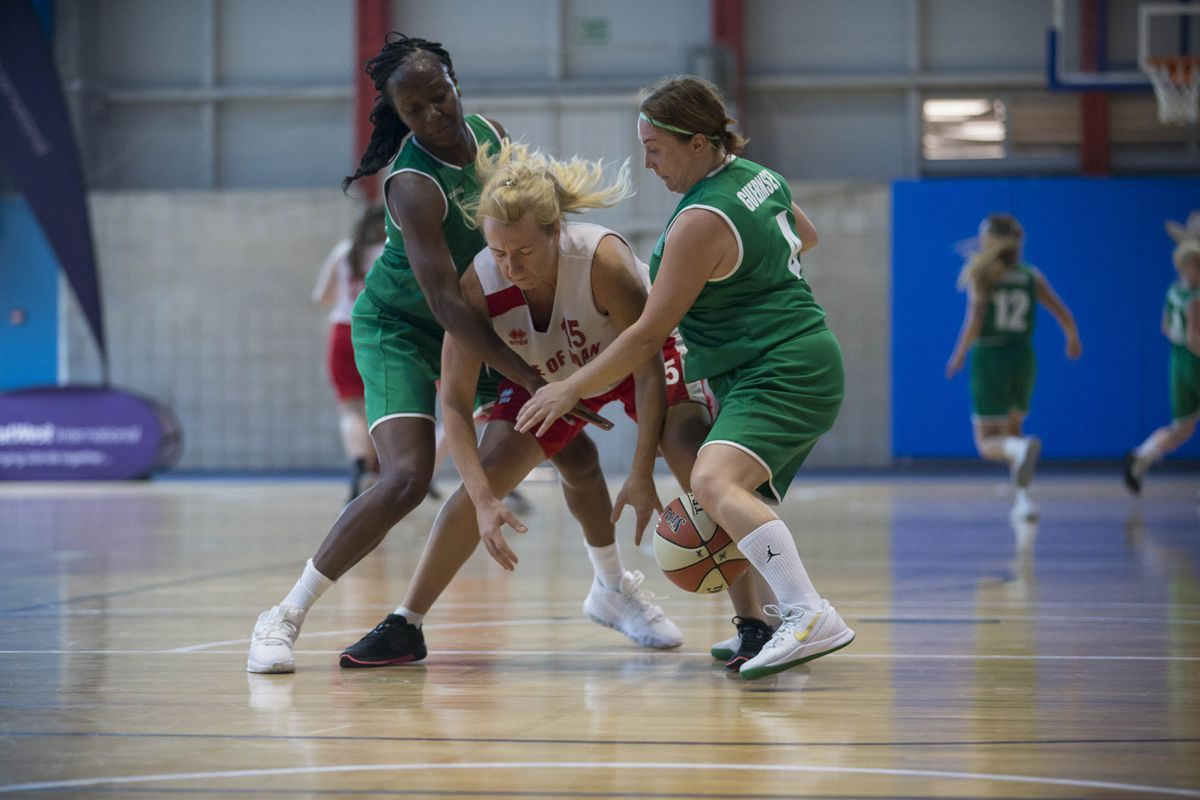 Old foes: Guernsey played the Isle of Man most recently at the Gibraltar Island Games in 2019. (Picture By Peter Frankland, 28817206)