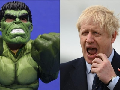 It's not easy being green: Boris Johnson's Hulk metaphor fails to be a smash hit