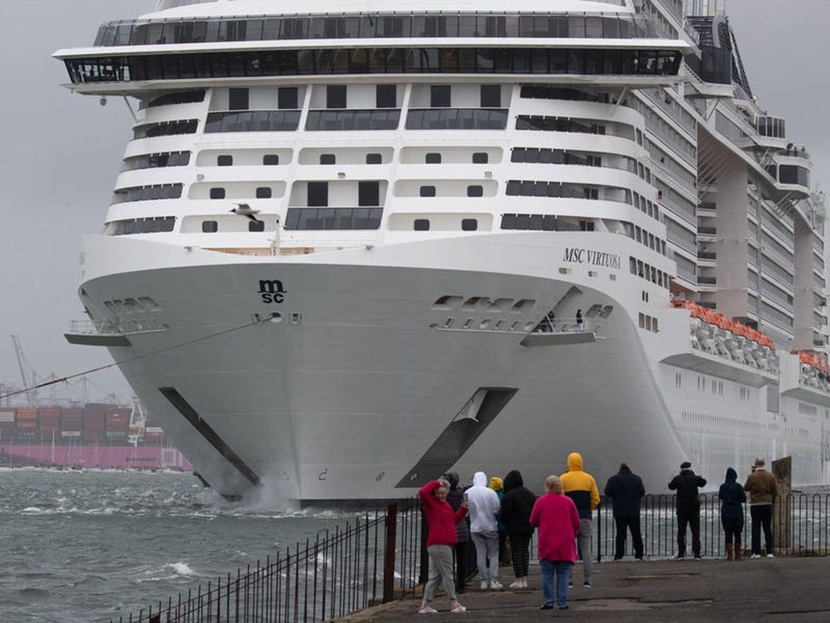 Cruise passengers including Scots 'barred from setting foot in own country'