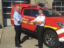 Fire service rapid responder built to tackle island's lanes