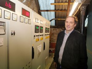 Sark Electricity director David Gordon-Brown. (Picture by Steve Sarre, 24289724)