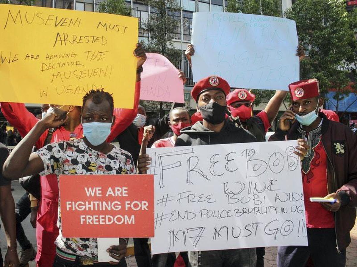 Uganda death toll after opposition leader's arrest rises up to 45