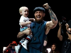 Conor McGregor's son stole the show at his dad's pre-fight open workout