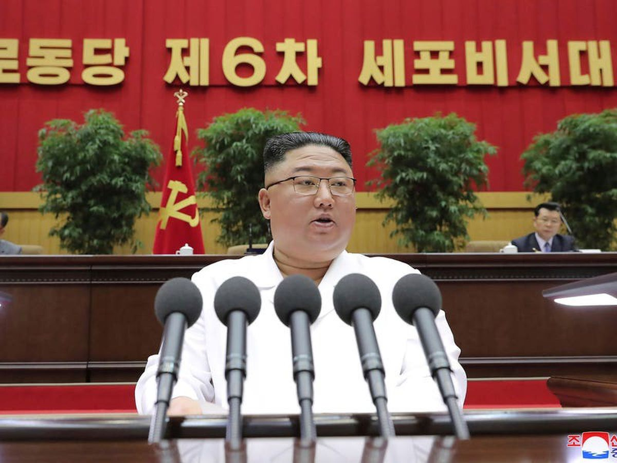 Kim Jong Un compares current conditions in North Korea to famine of 1990s