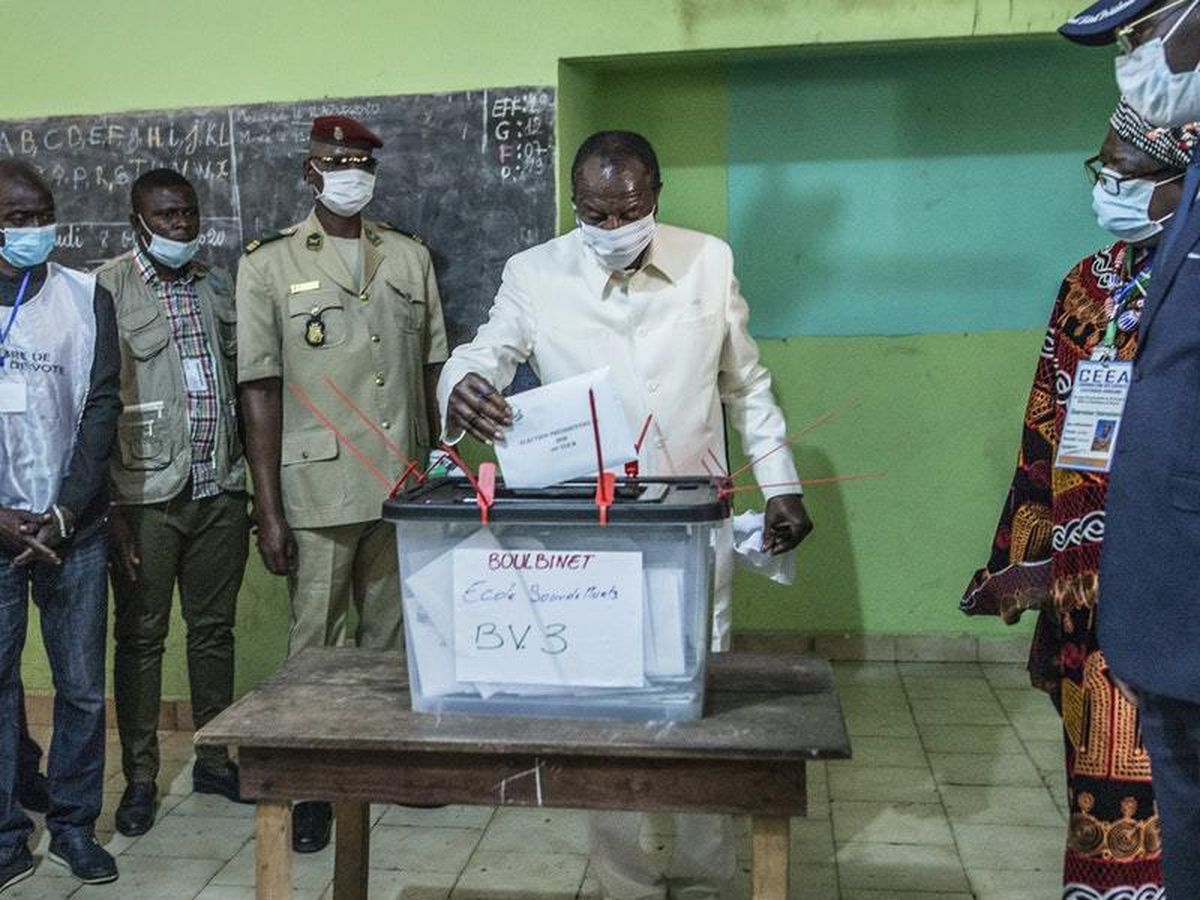 Guinea's president wins third term says electoral commission