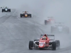 Priaulx shines in the rain at Knockhill