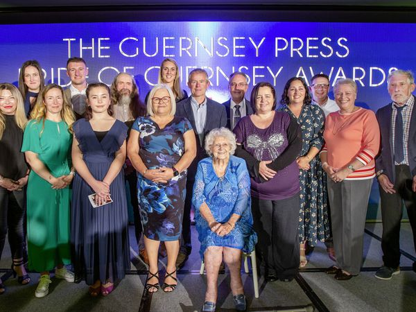 Picture By Sophie Rabey.  16–10-21.  Guernsey Press Pride of Guernsey Awards 2021 - Held at St Pierre Park. ALL WINNERS (30094804)