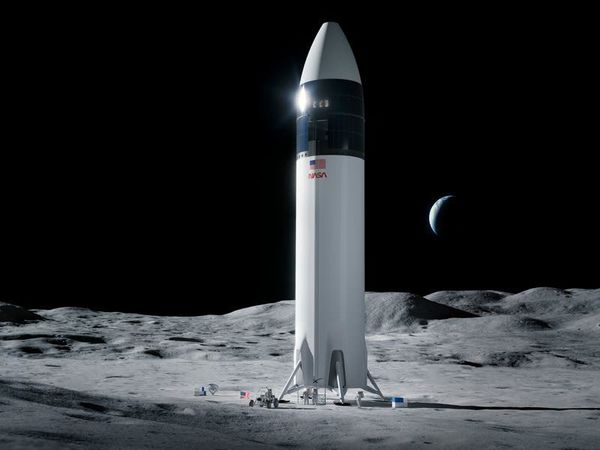 Bezos loses appeal over Nasa's plans to use Musk moon lander