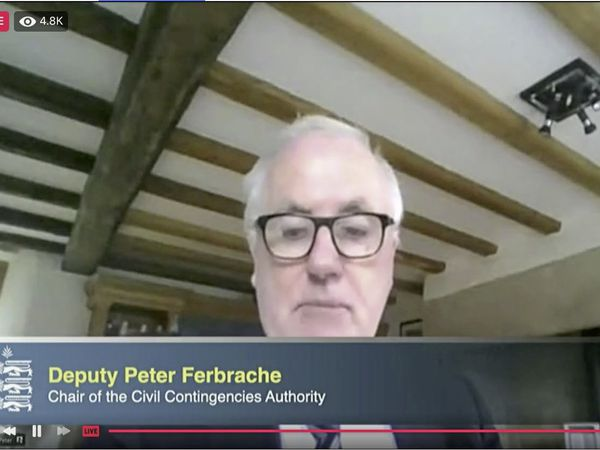 Civil Contingencies Authority chairman Peter Ferbrache. (29306839)