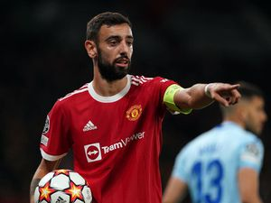Bruno Fernandes a fitness doubt for Manchester United's clash with Liverpool