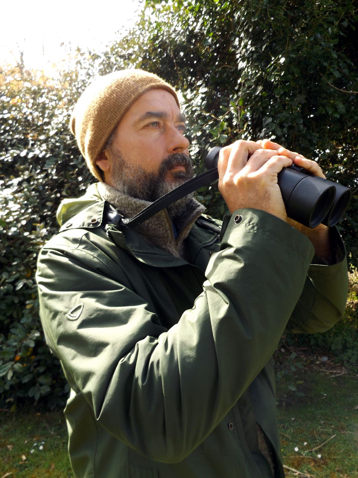 Alderney Bird Observatory warden John Horton is delighted that it is now part of another major study, this time a national one being run by the British Trust for Ornithology and Durham University. (29266252)