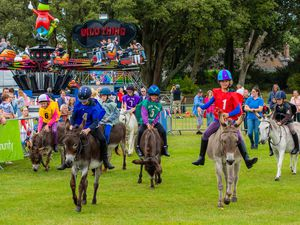 The Donkey Derby in 2019. (29412290)