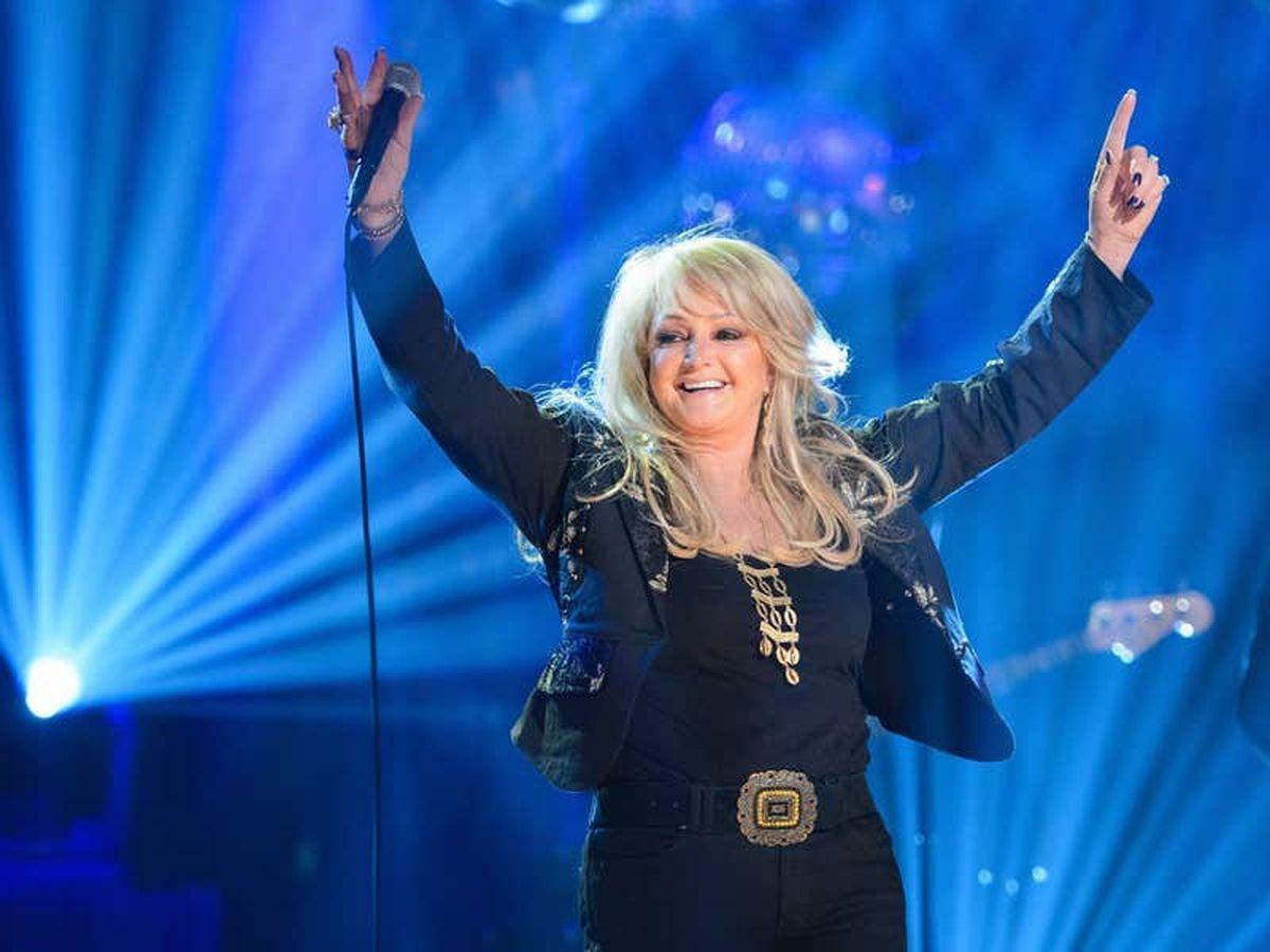 Bonnie Tyler's Twitter mentions soar following partial solar eclipse