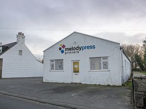 Melody Press is seeking permission to demolish its printing works and paper store at L'Islet so that four houses can be built there. (Picture by Peter Frankland, 23138113)