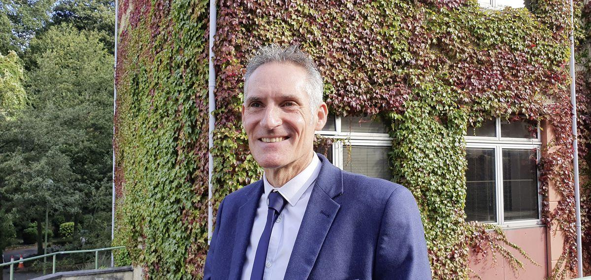 New Education director Nick Hynes. (29989995)