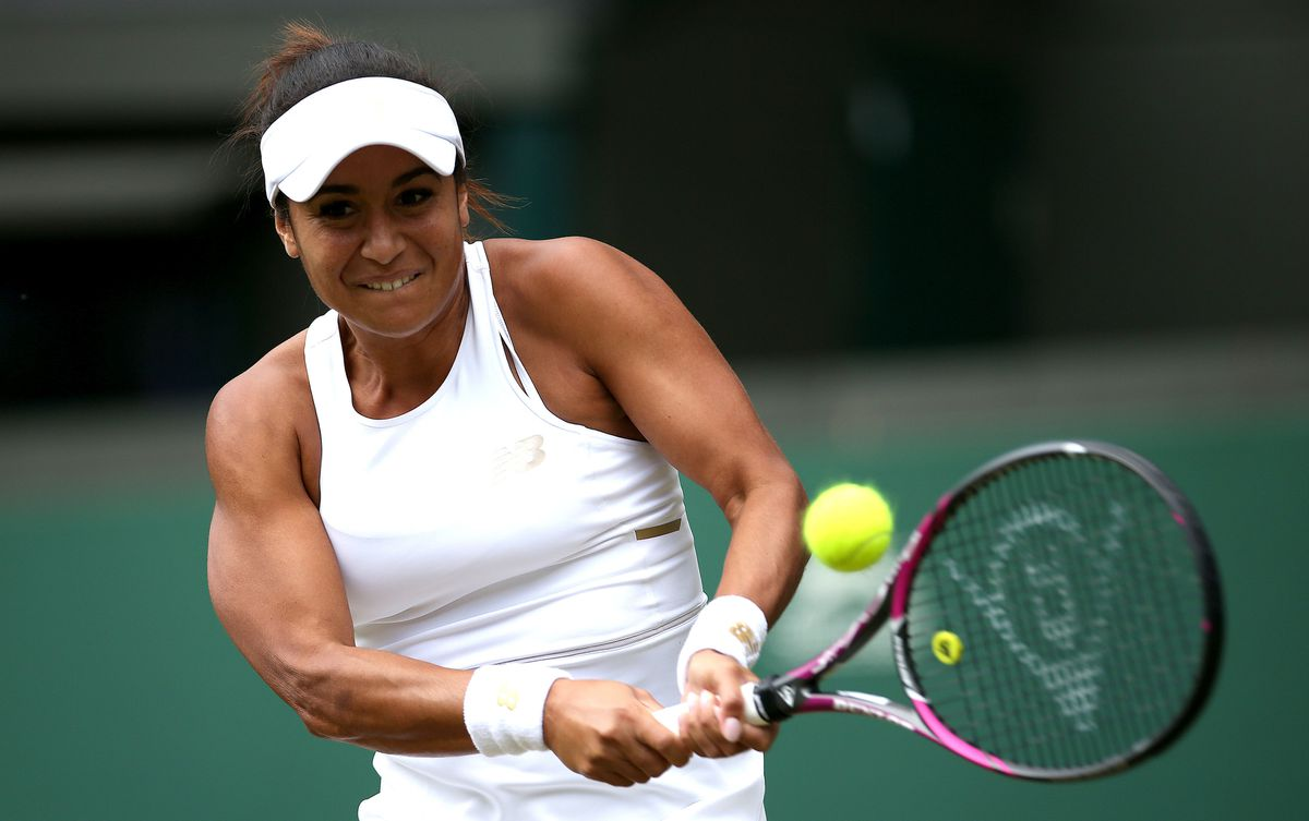 So near but yet so far: Heather Watson lost a thriller on No.1 court. (Picture by PA Wire/PA Images, 25122598)