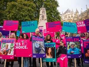 Supporters gather as peers debate Assisted Dying Bill