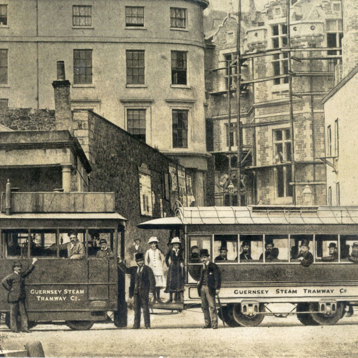 The original steam trams were a mere 20-horsepower operation.(28692852)