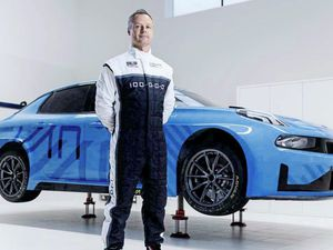 Andy and the blue machine: The Guernsey racing legend is making a return to Touring Cars with the new, ambitious Cyan Lynk & Co racing team. (23347944)