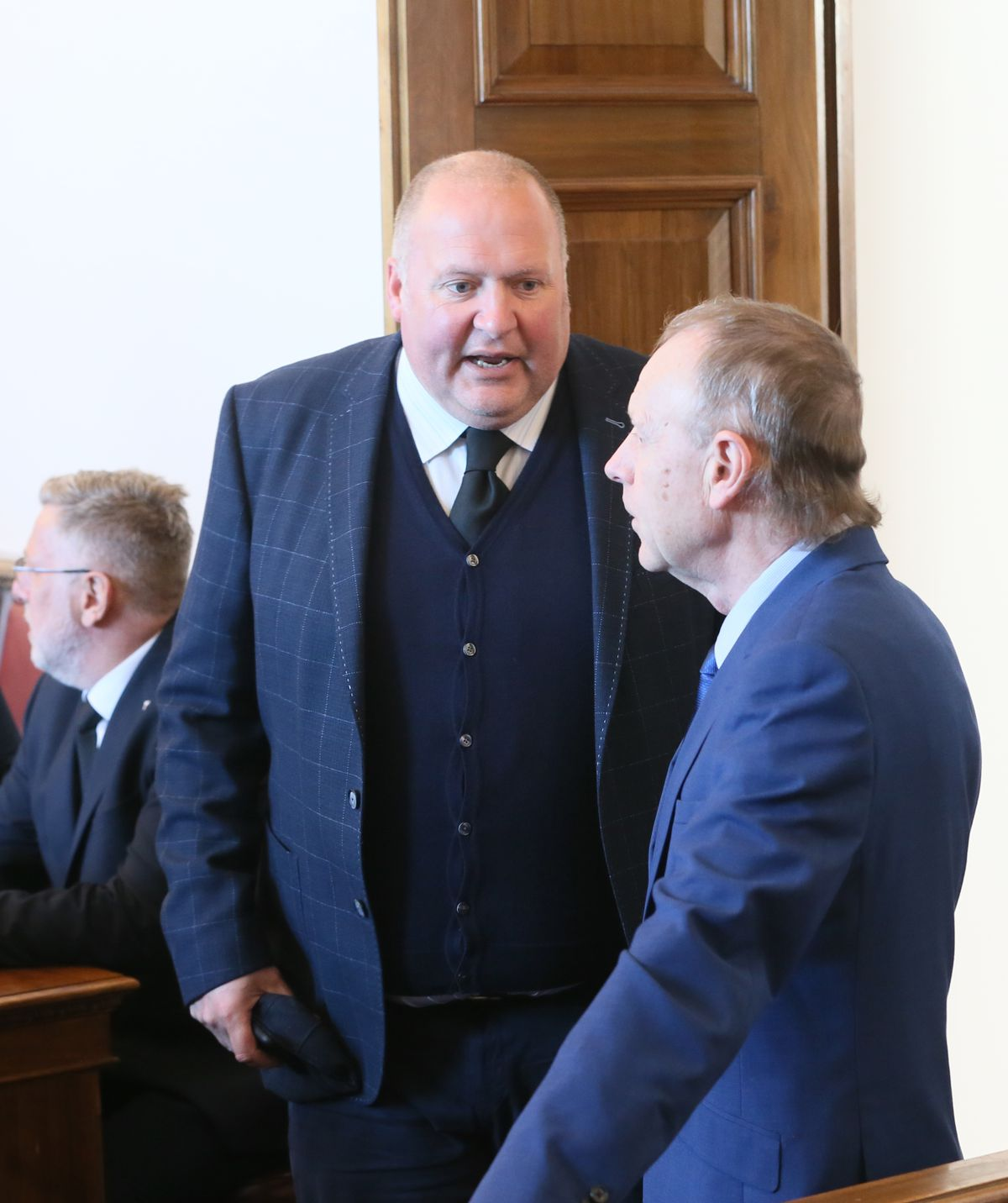 States' Assembly and Constitution members Deputy Simon Fairclough,left, and Deputy Lester Queripel. (Picture by Cassidy Jones, 30024219)