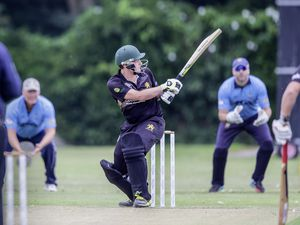 Canaccord Griffins v Walkovers .Praxis IFM CI League.Tom Kirk.www.guernseysportphotography.com .Cricket at the College Field. Picture by Martin Gray, 03-08-19.. (25425445)