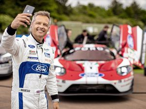 2019 World Endurance Championship\rLe Mans Shakedown\rHinton Airfield, England\r28th May 2019\rPhoto: Drew Gibson .Andy Priaulx ahead of Le Mans 24-Hour race, June 2019.. (24909307)