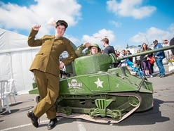 Tommy Tankers add a touch of Dad's Army fun to event