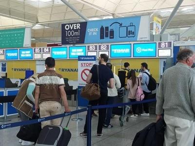 Ryanair reports half-year profits down 7%