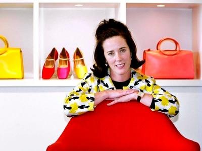 Tributes paid as fashion designer Kate Spade dies aged 55