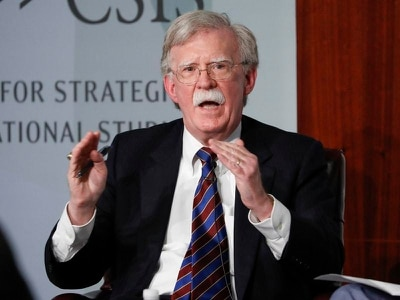 John Bolton returns to Twitter amid claim White House locked him out of account