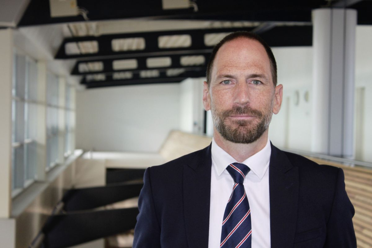 Ben Le Huray, chief commercial and infrastructure officer for Guernsey Ports. (30066984)