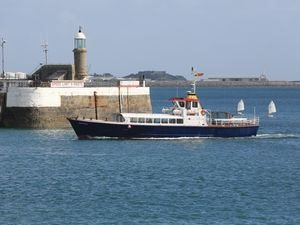Isle of Sark Shipping's Sark Belle. (Picture by Adrian Miller, 28753240)