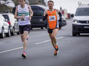 Picture by Sophie Rabey.  05-04-21.  10k Road Race - L'ancresse to St Peter Port Town.. (29403240)