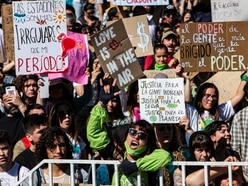 Global youth protests urge climate action
