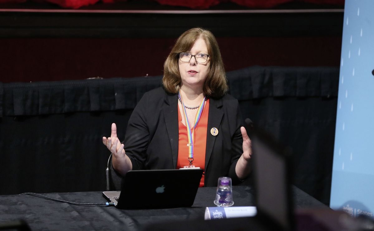 Director of Public Health Dr Nicola Brink. (Picture by Adrian Miller, 29050820)