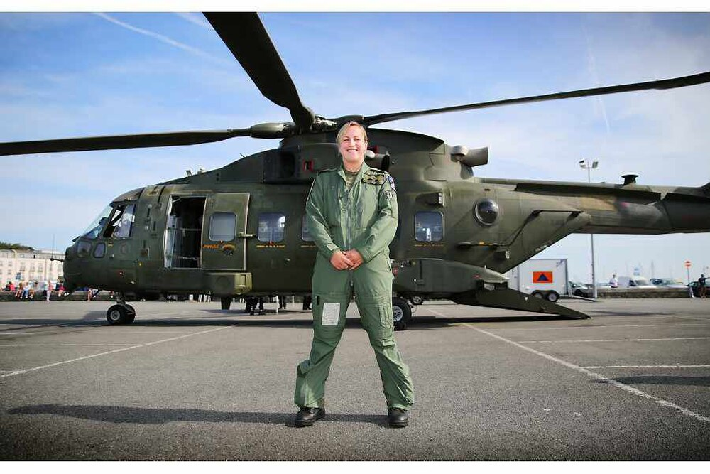 Royal Navy Helicopter Pilot Natalie Shortlisted For Award