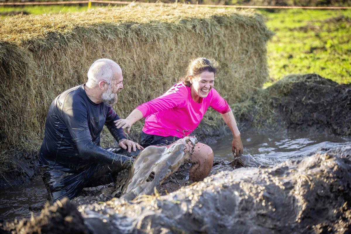 Picture by Sophie Rabey.  29-11-20. Muddy Cow Fun Run Vazon/Grande Mare. (28963010)